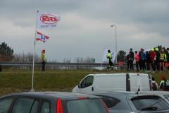 2013 03 10- Afsluitdijkrun 2013 06 - de Lopers voor de start - foto Rients Jorna (5)