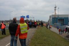 2013 03 10- Afsluitdijkrun 2013 07 - de Lopers voor de start - foto Rients Jorna (6)